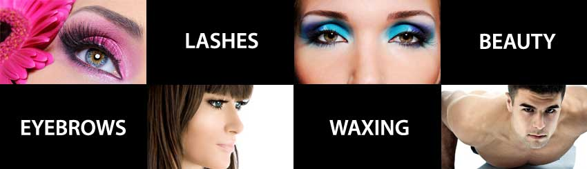Eyebrows, Waxing, lashes